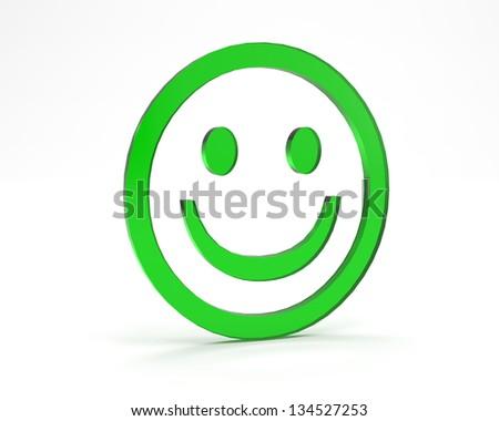 Smiley Face - stock photo