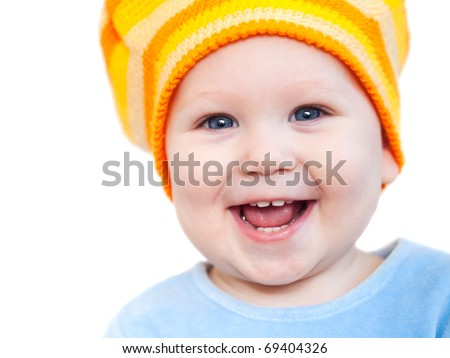 Baby Smiling With Teeth Smiling Baby Girl Showing