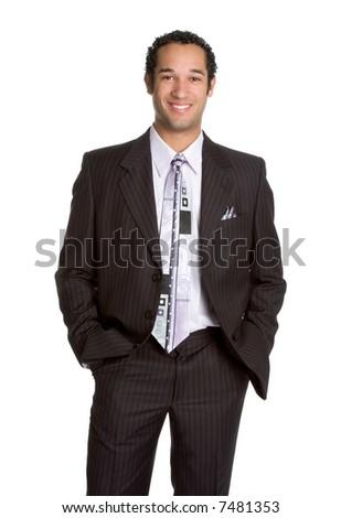Smiling Businessman - stock photo