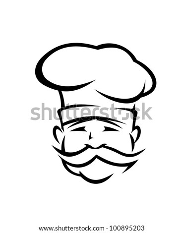 The gallery for --> Mexican Chef Hat Logo