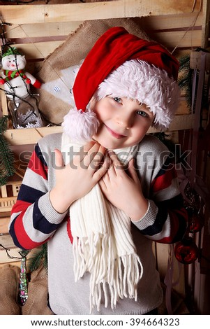 Smiling little boy  - stock photo