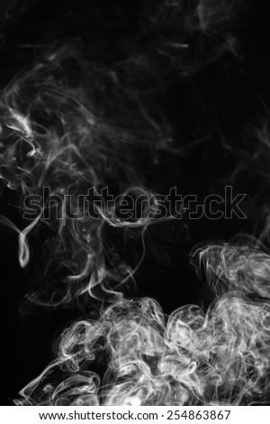 smoke abstract background. - stock photo