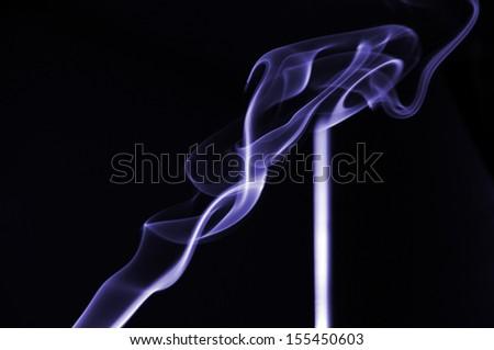 Smoke Cloud - stock photo