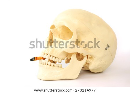 Smoking kills, Stop smoking. - stock photo