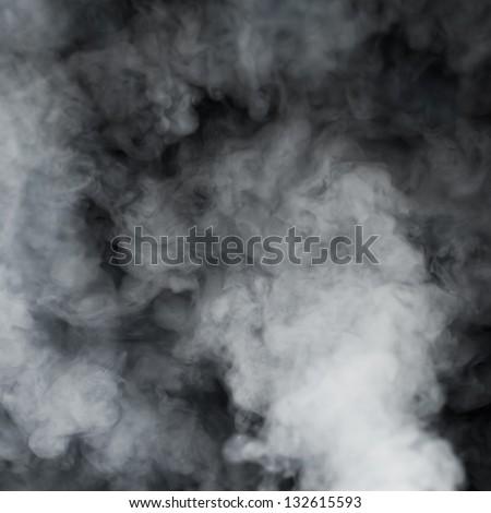 smoky cloud background - stock photo