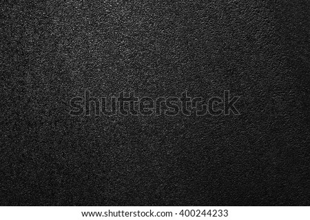 Smooth asphalt road. The texture of the tarmac, top view. - stock photo