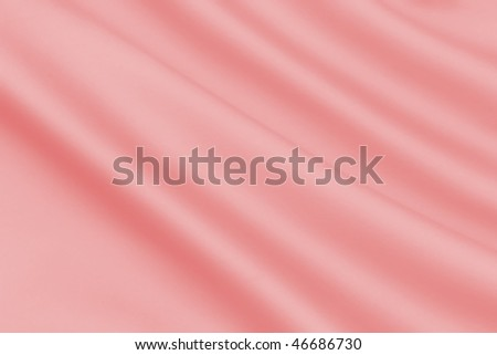 Smooth Peach Satin - stock photo