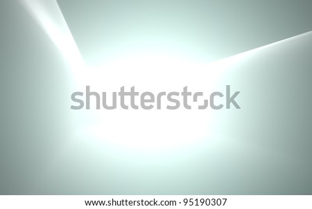 Smooth room. - stock photo