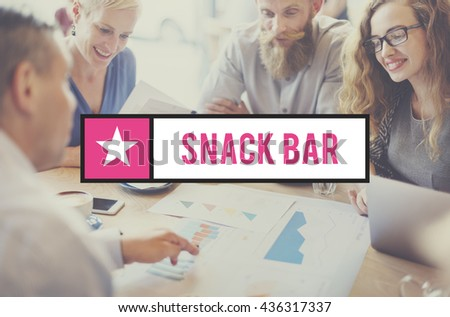 Snack Bar Energy Grains Granola Muesli Nutrition Concept - stock photo