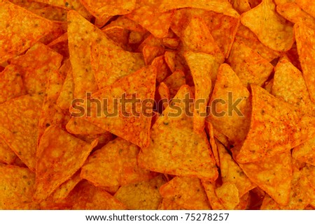 Snack Chips - stock photo