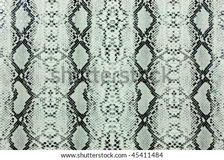 Snake skin pattern - stock photo