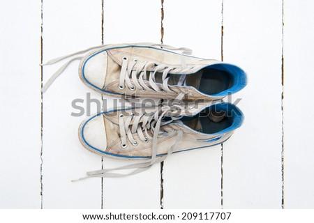 Sneakers - stock photo