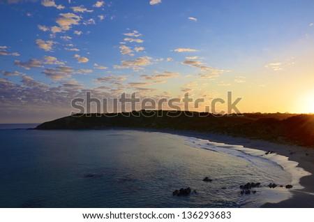 Snelling Beach, Kangaroo Island, South Australia - stock photo