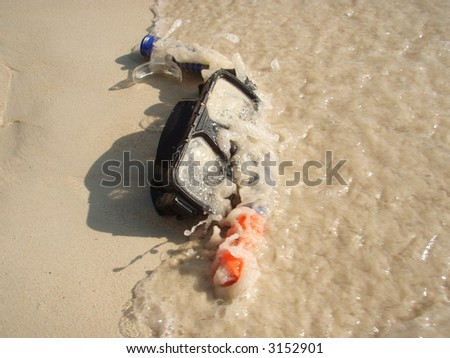 Snorkelling Gear - stock photo
