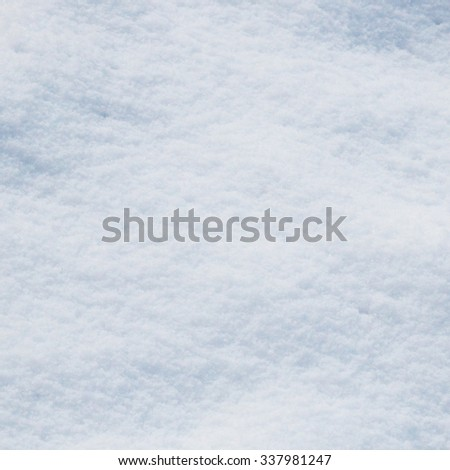 Snow on the snowdrift - stock photo