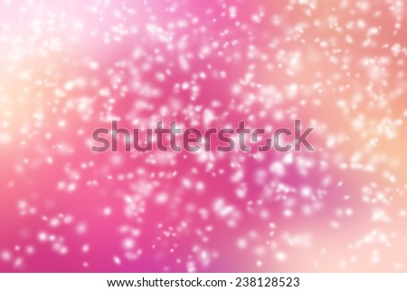Snow storm on colorful background. - stock photo