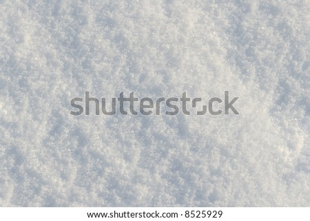 Snow surface background - stock photo