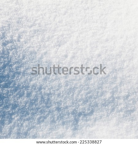 Snow surface texture - stock photo