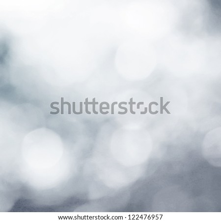 Snowflakes in an abstract background - stock photo