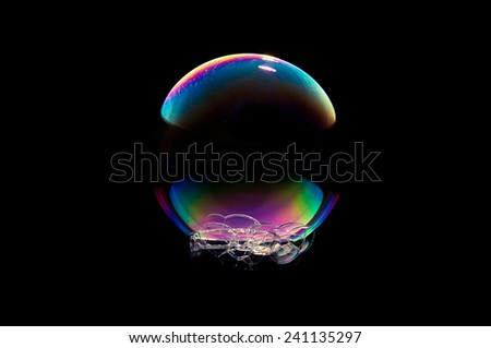 Soap Bubble - stock photo