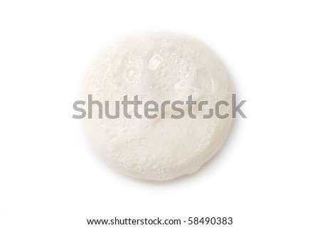 Soap isolated on the white background - stock photo