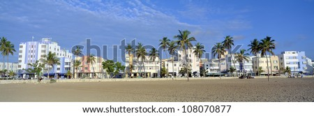 SoBe, Miami Beach, Florida - stock photo