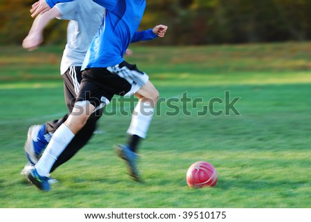 soccer - stock photo