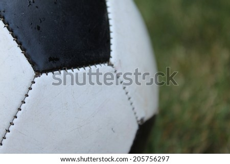 soccer ball football - stock photo