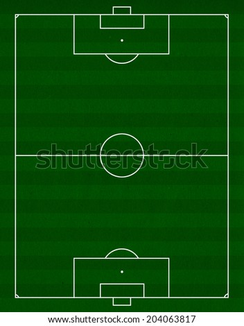 soccer field or football field concept - stock photo
