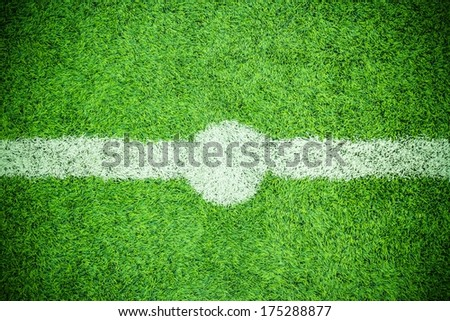 soccer field outdoor - stock photo