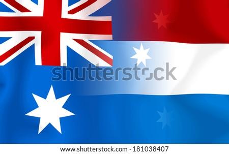 Soccer 2014 ( Football) Australia and Netherlands - stock photo