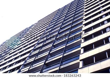 social housing - stock photo