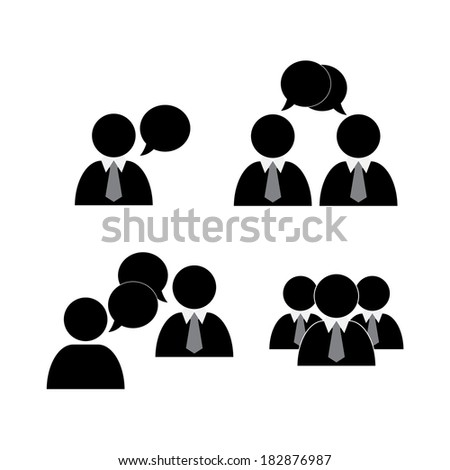 Social icons - stock photo