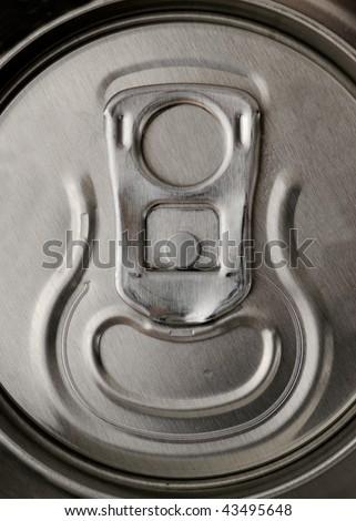 Soda can top - stock photo