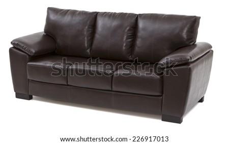 sofa fabric living - stock photo