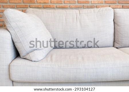 sofa interior - stock photo