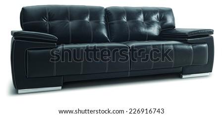 sofa living texture - stock photo