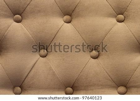 sofa upholstery pattern - stock photo