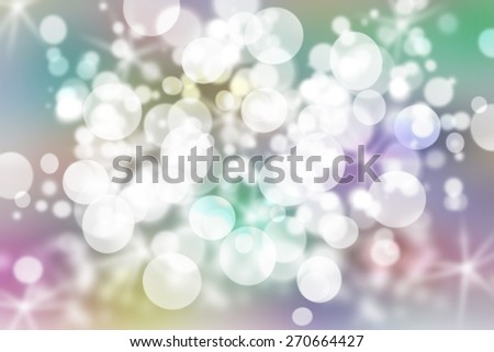 soft abstract background for various design artworks with beautiful twinkling bokeh - stock photo