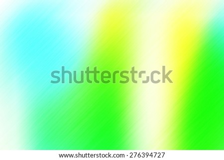 soft abstract blue green yellow background for various design artworks with up right diagonal speed motion lines - stock photo