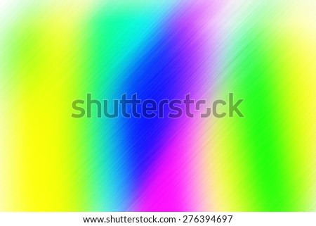 soft abstract  blue green yellow white pink background for various design artworks with up right diagonal speed motion lines - stock photo