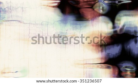 Soft, abstract, organic fluid forms on a white background. - stock photo