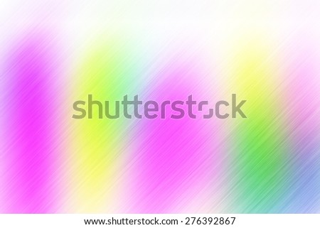 soft abstract pink yellow green background for various design artworks with up right diagonal speed motion lines - stock photo