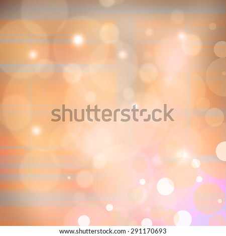 Soft colored abstract yellow and pink background - stock photo