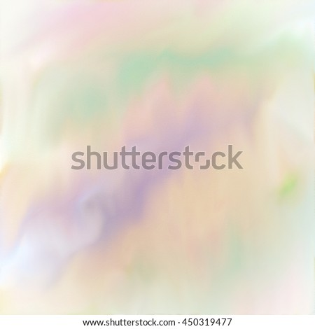 Soft digital watercolor painting in pastel spring colors. - stock photo