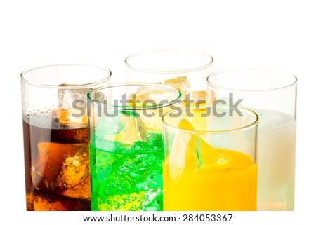 soft drink - stock photo