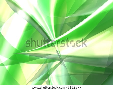 soft green abstract - stock photo