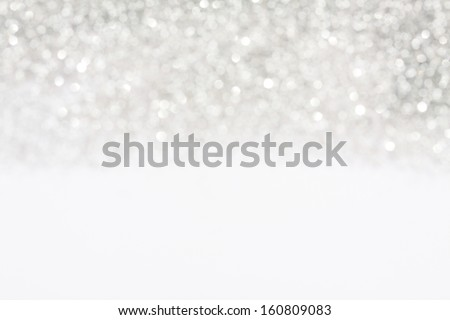 Soft lights silver background - stock photo