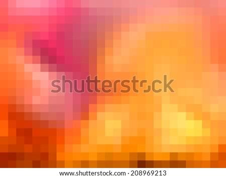 Soft pastel color background-pixelated image - stock photo