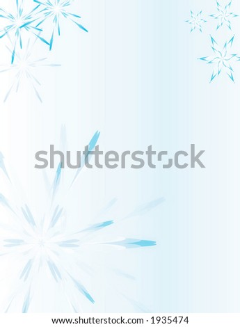 soft petal background in blue - stock photo
